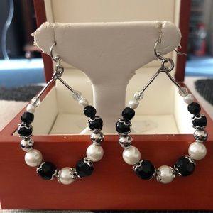 Handmade beads earrings